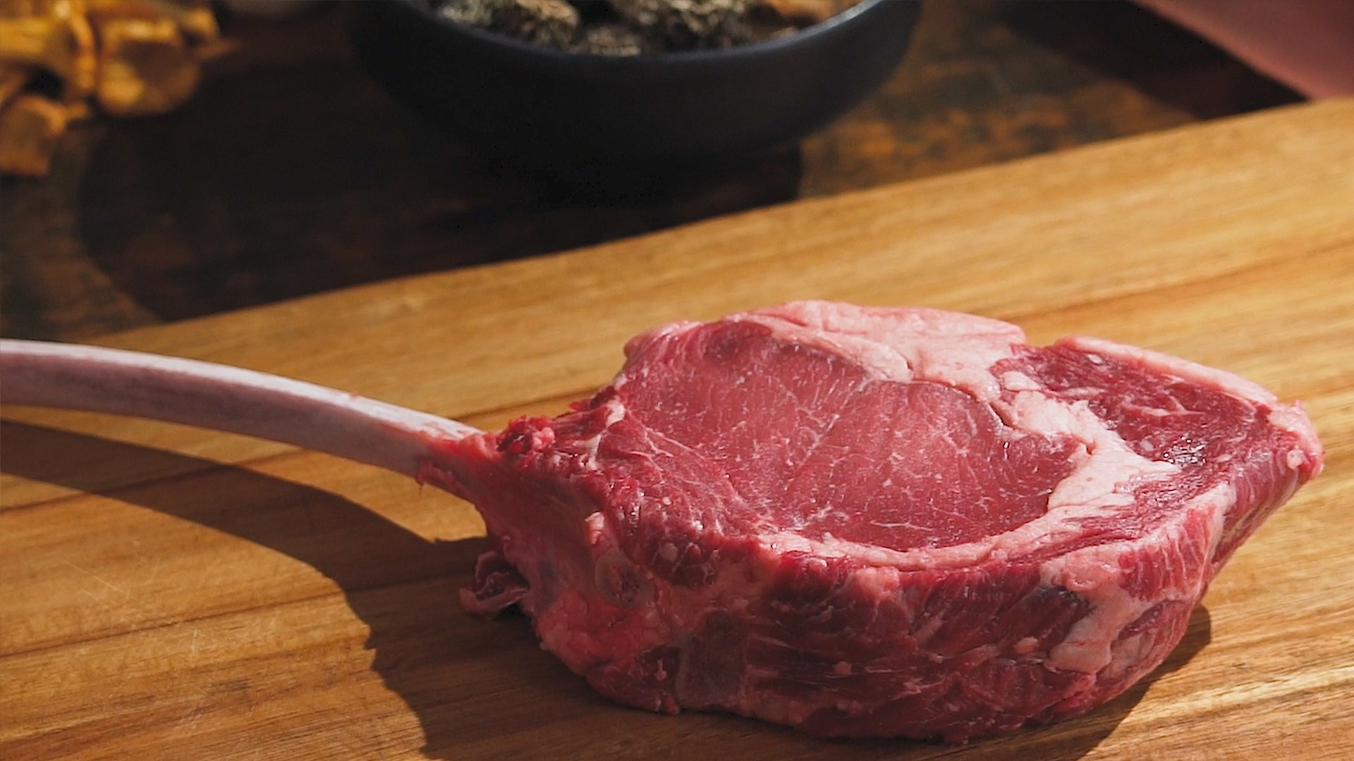 Here's why bison tomahawk steak is so damn sexy article image