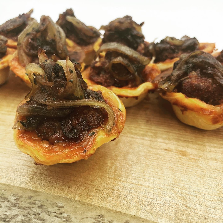 Bison & Brie Mini Pies article image