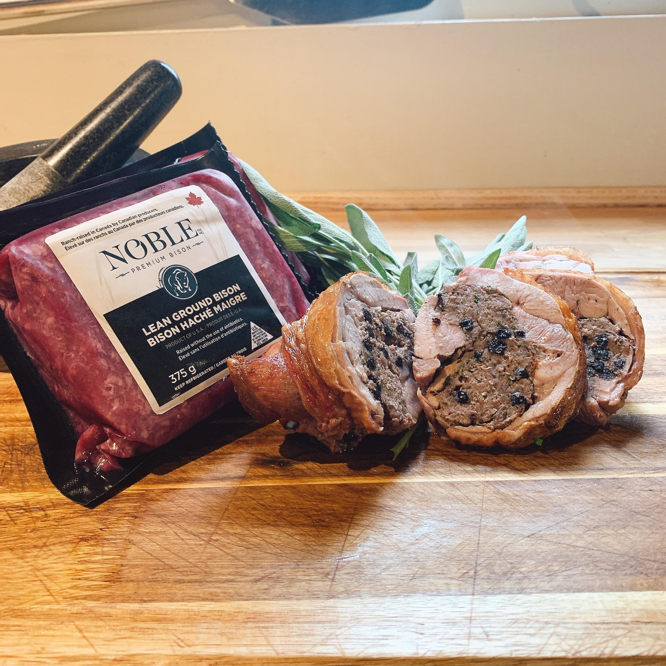 Bison Stuffed Turkey Thigh article image