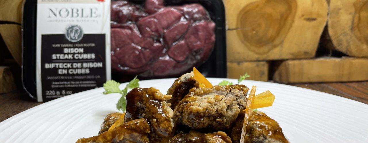 Gingered Bison Steak Cubes article image