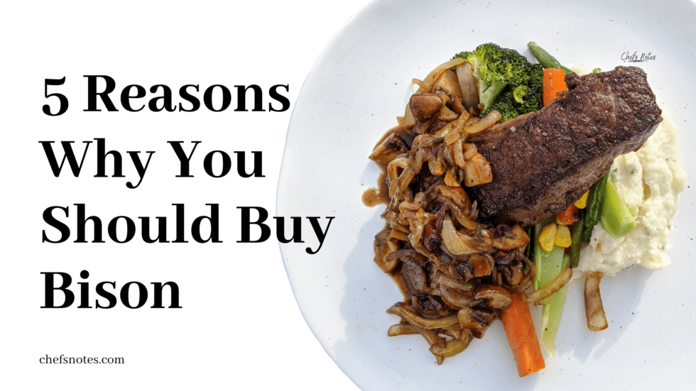 5 Reasons to Buy Bison and Why It May Be The Meat of The Future featured image