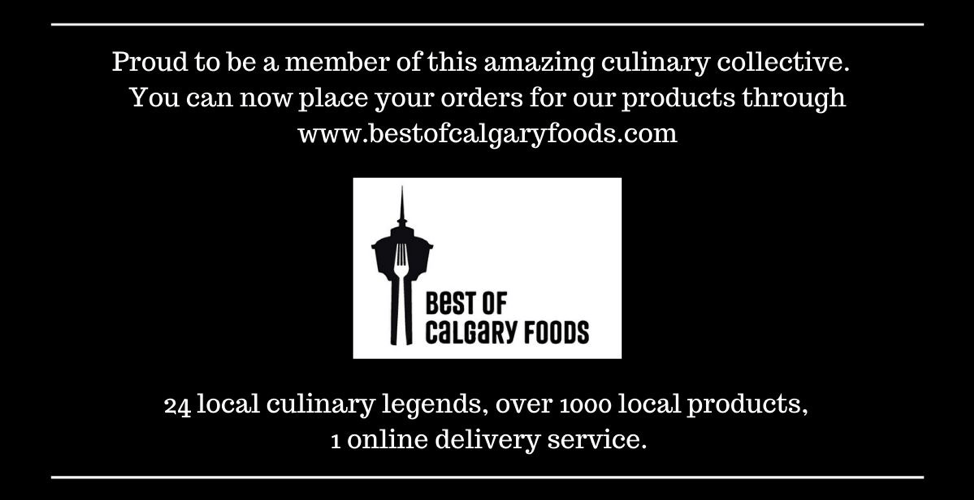 We're not just another delivery service. We're the best of Calgary foods.