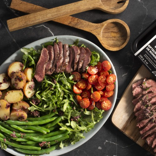 Bison Nicoise Steak Salad