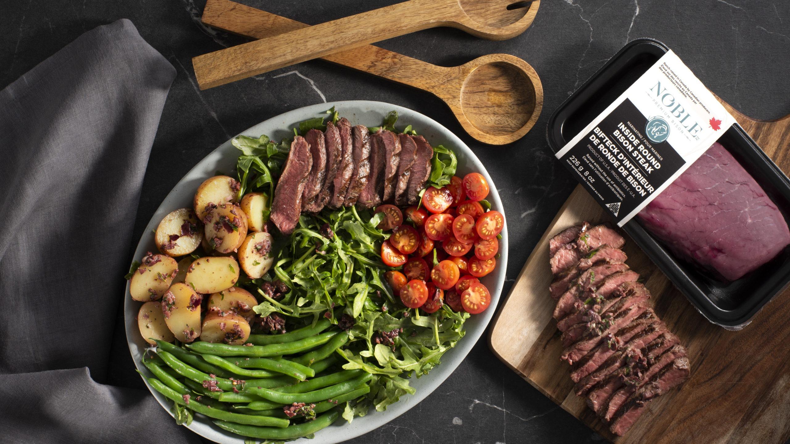 Bison Nicoise Steak Salad article image