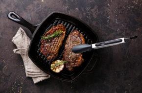 Immagine dell'articolo di bistecca di bisonte di controfiletto di ghisa