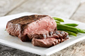 Bison Top Sirloin Steak with Mustard Shallot Sauce article image