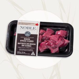 Bison <br>Steak Cubes