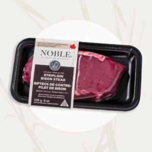 Striploin <br>Bison Steak