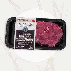 Top Sirloin <br>Bison Steak