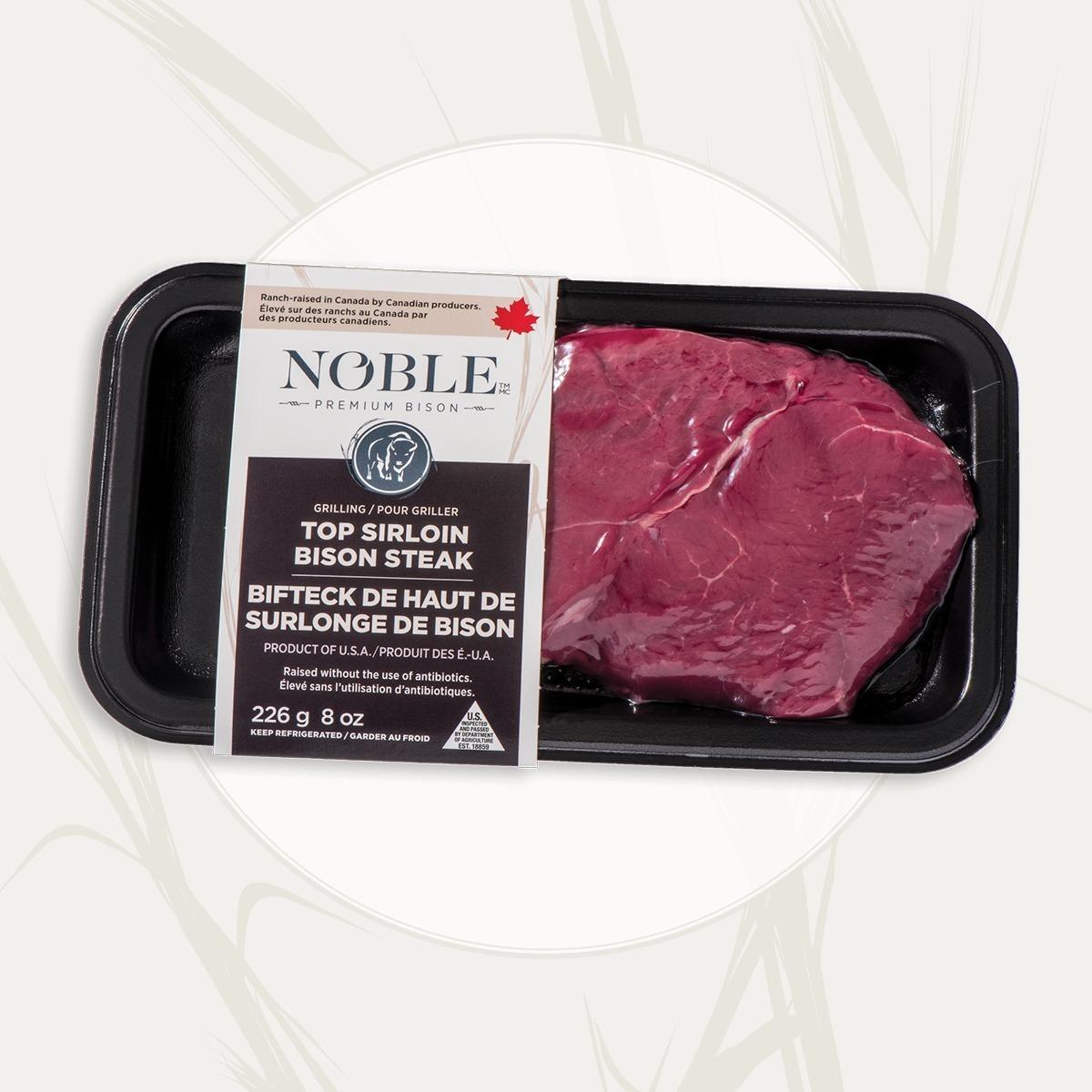 Haut de surlonge Bifteck de bison