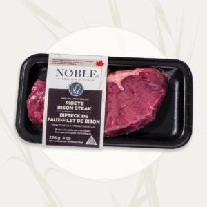 Ribeye <br>Bison Steak