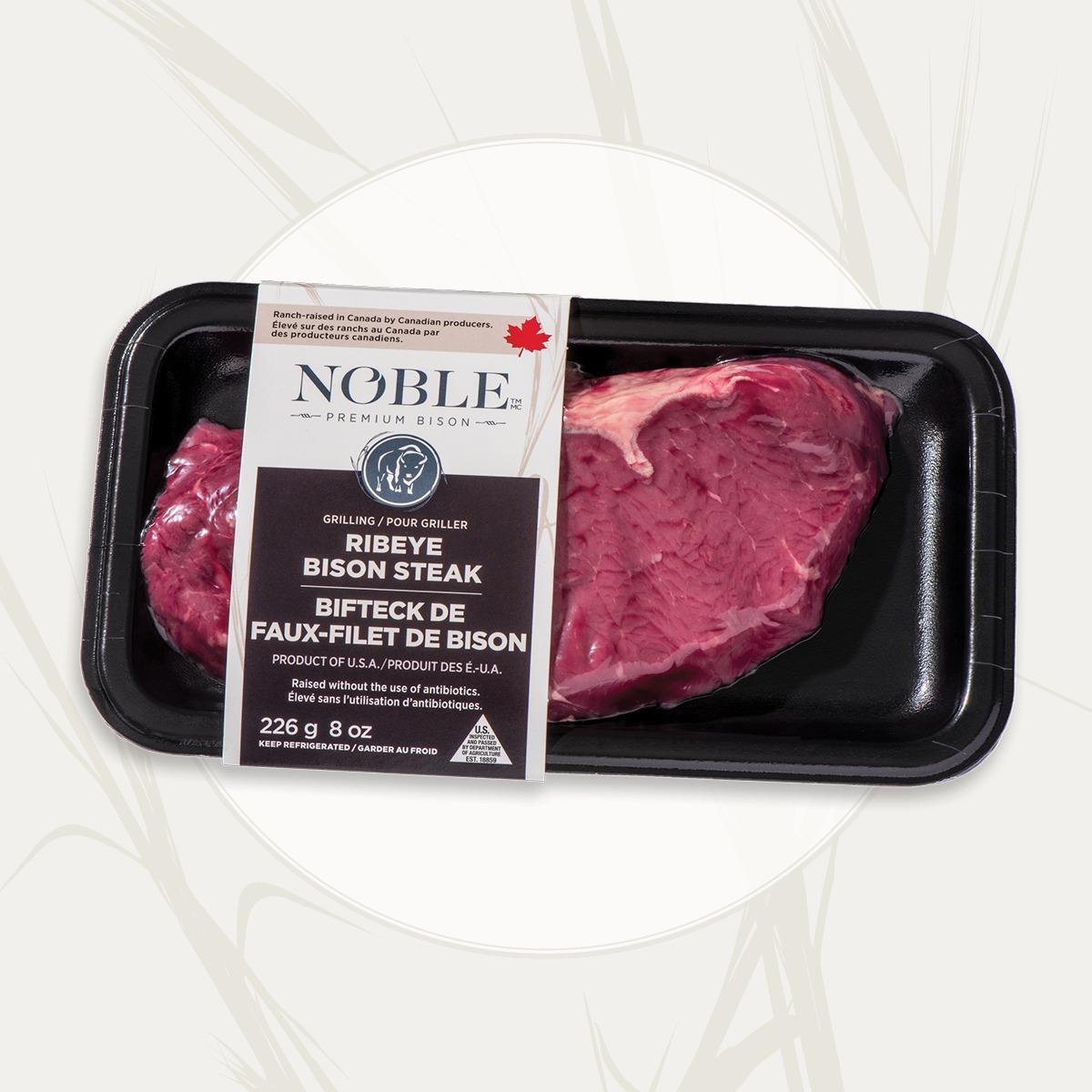 faux-filet Bifteck de bison