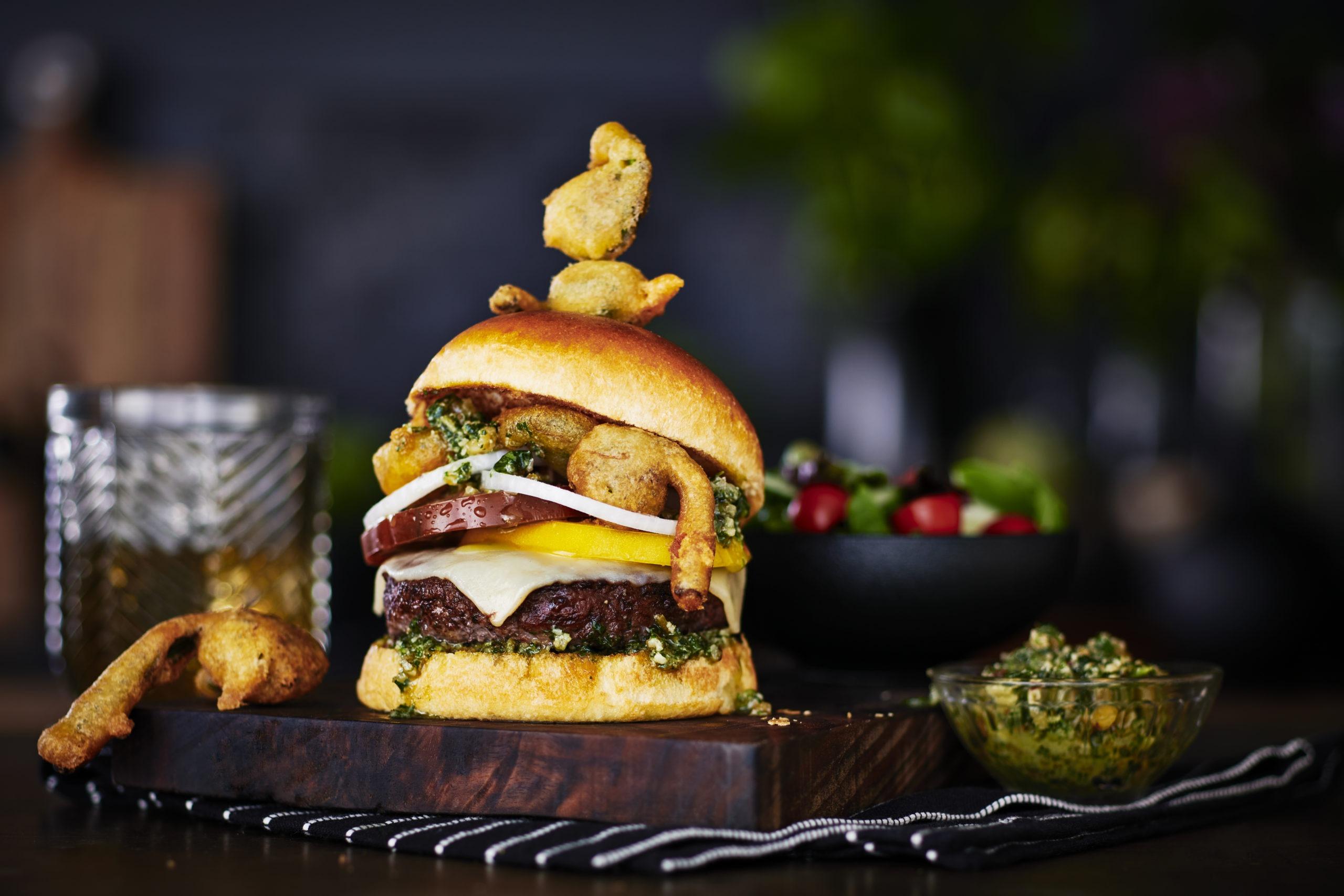 Wild Spicin' Bison Burger article image