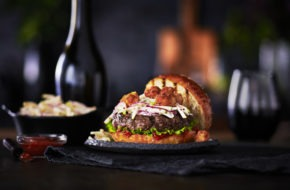 Surf n' Turf Bison Burger article image